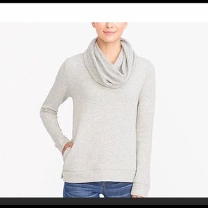 Jcrew funnelneck sweatshirt